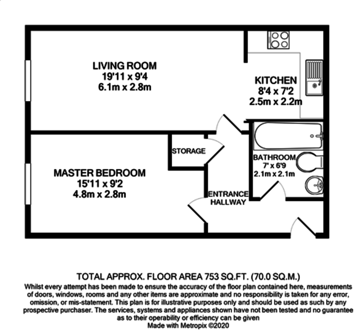 Regal Court, 72 Bishopsgate Street, Birmingham City Centre floorplan 1 of 1