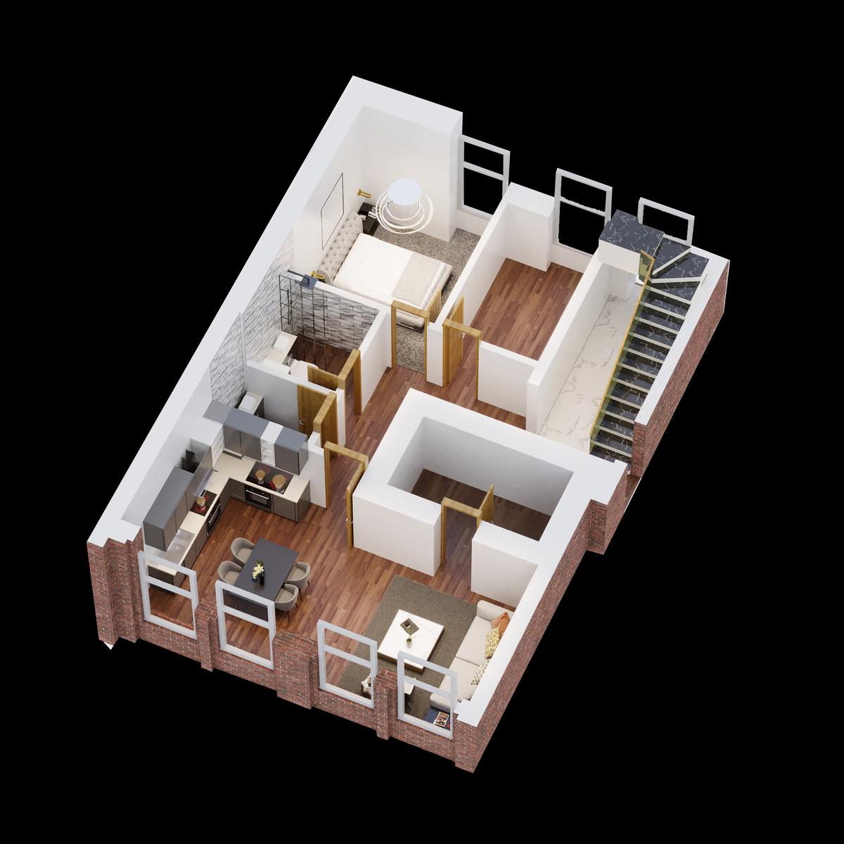 Sydenham Place, 26B Tenby Street, Jewellery Quarter floorplan 1 of 2