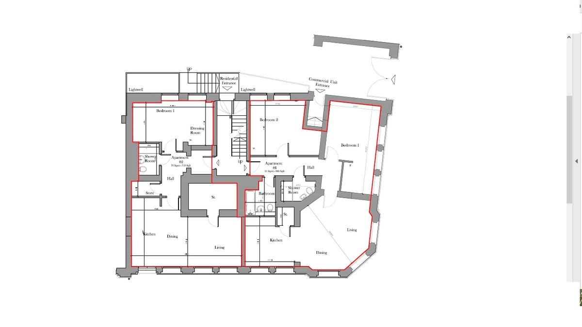 Sydenham Place, 26B Tenby Street, Jewellery Quarter floorplan 2 of 2