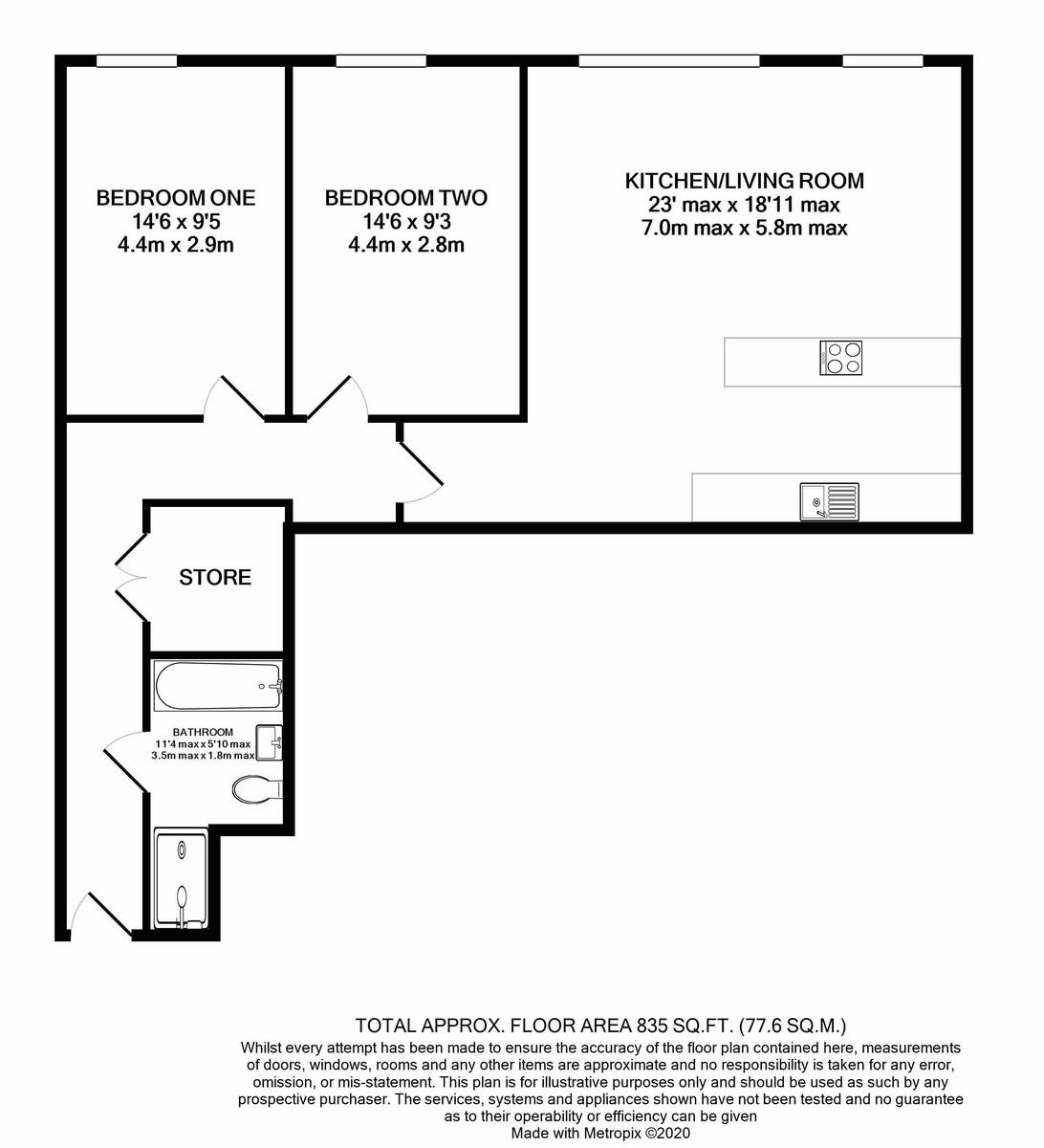 The Franklin, Bournville Lane floorplan 1 of 1