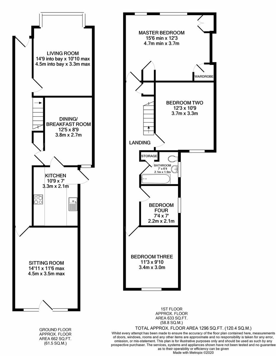 Willow Avenue, Birmingham floorplan 1 of 1
