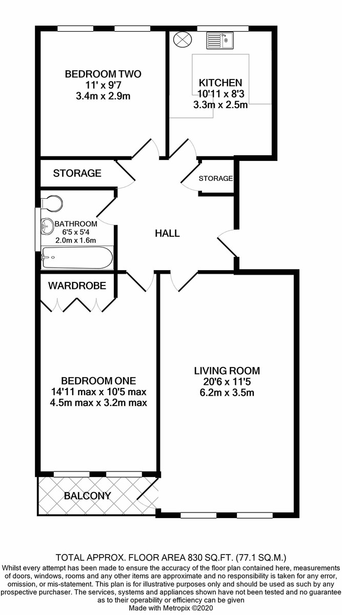Jacoby Place, Priory Road, Edgbaston floorplan 1 of 1
