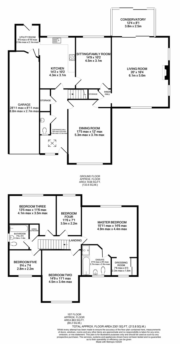 Rodman Close, Edgbaston floorplan 1 of 1