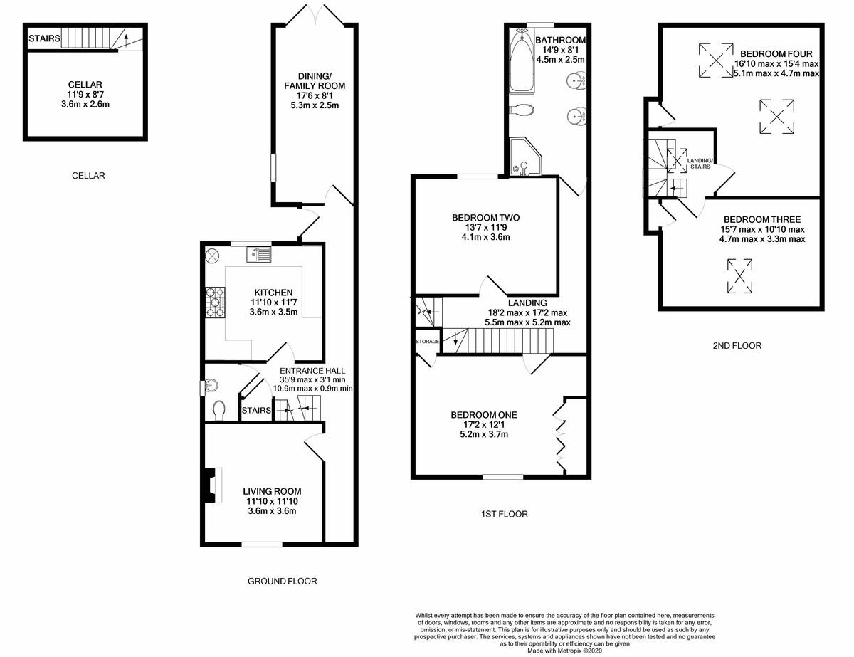 Reservoir Retreat, Birmingham floorplan 1 of 1