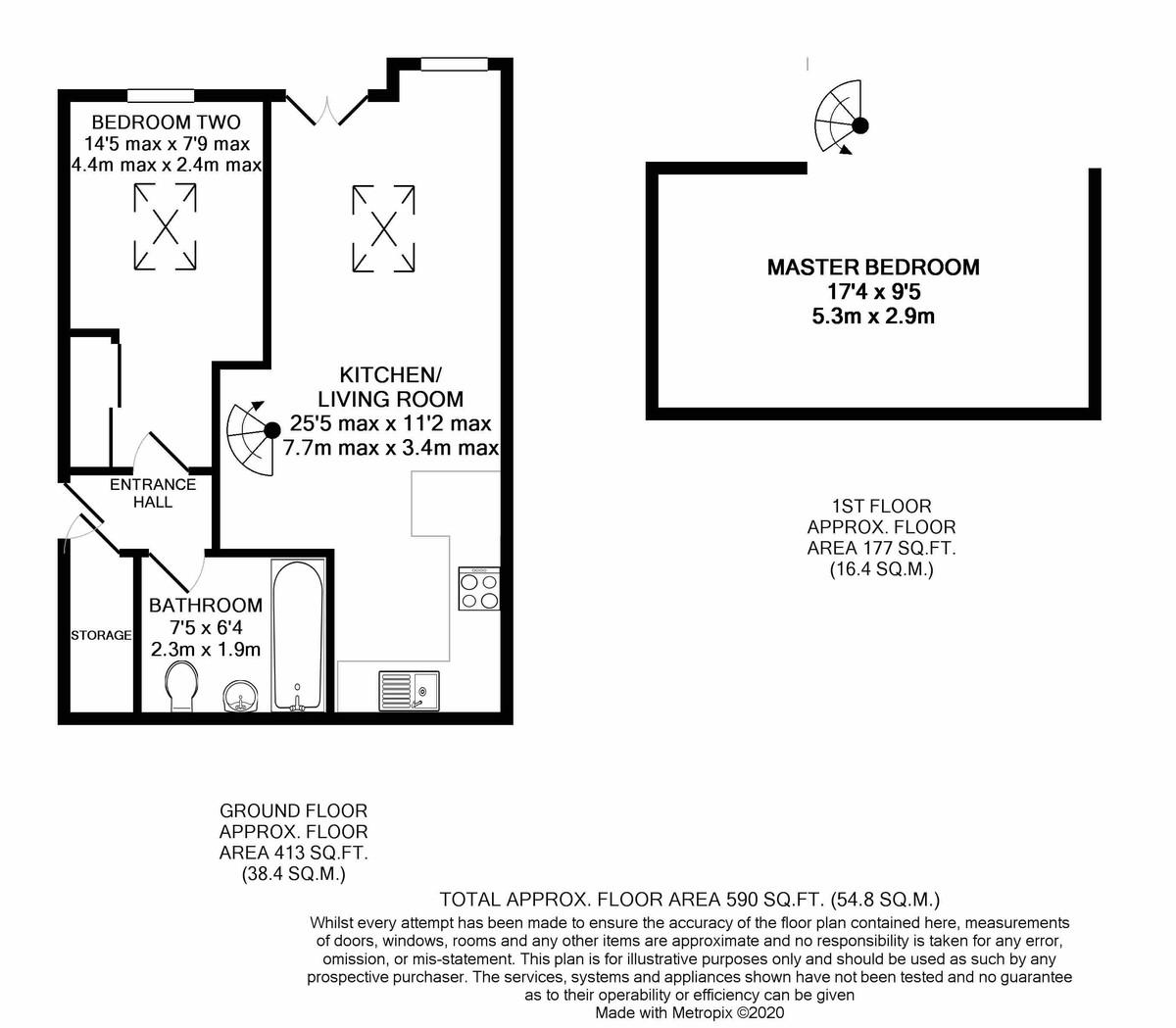 Farthing Court, Graham Street floorplan 1 of 1