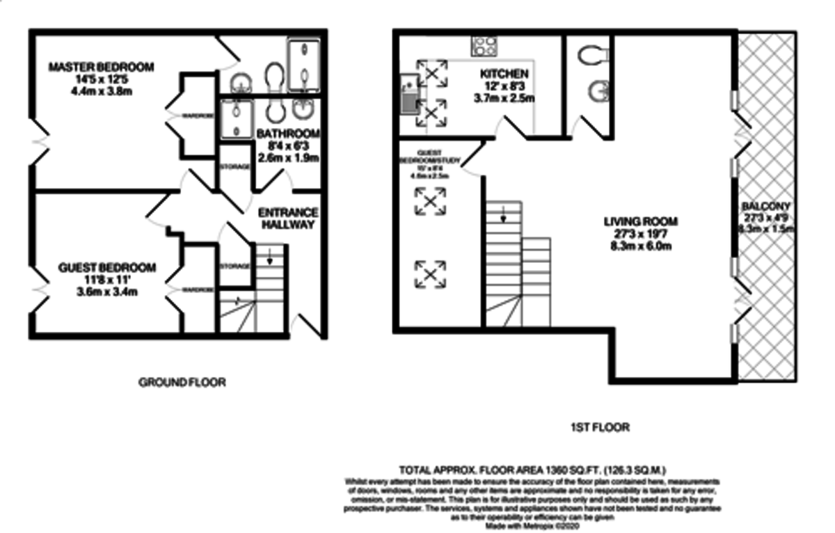 Berkley Court, 43 Berkley Street, Birmingham City Centre floorplan 1 of 1
