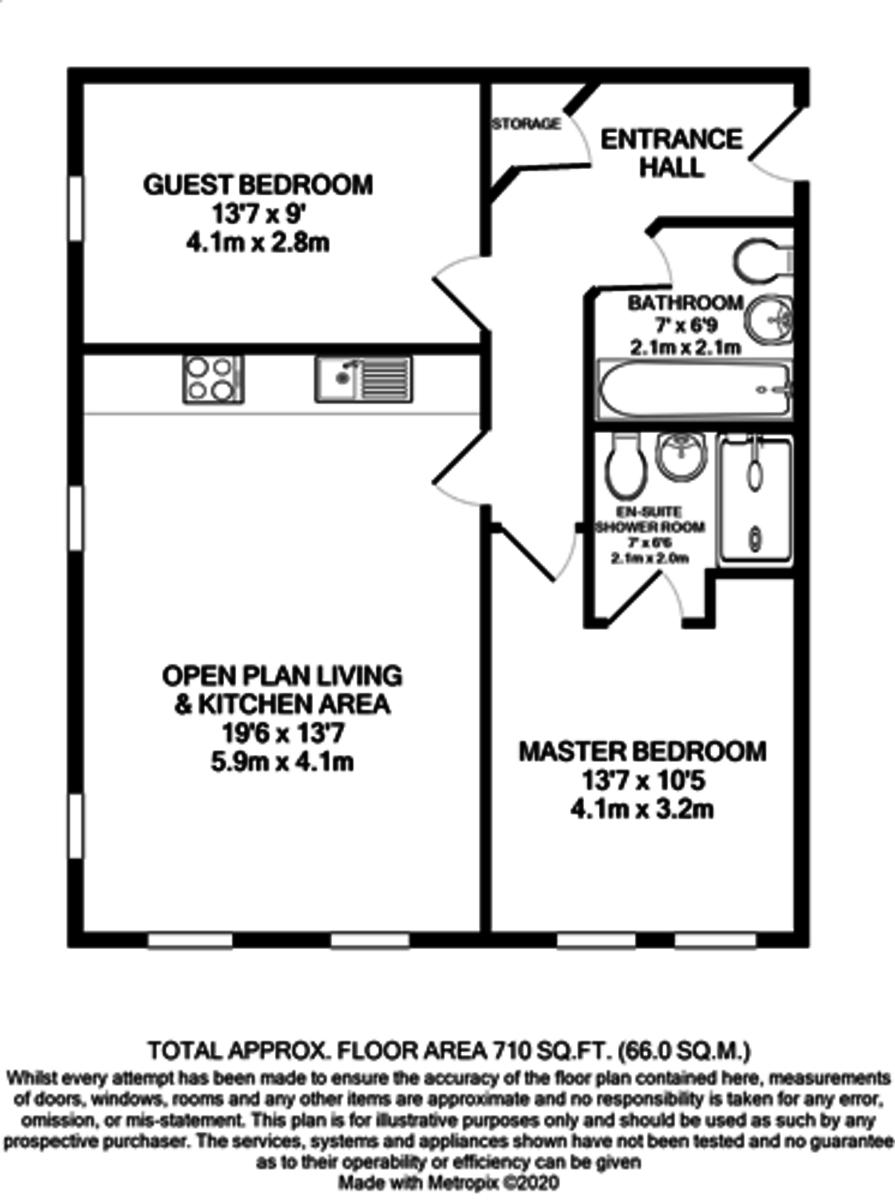 Tennant Street Lofts, 98 Tennant Street, Birmingham City Centre floorplan 1 of 1