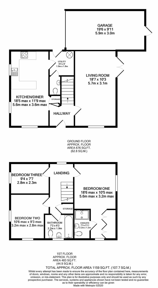 Wicket Drive, Edgbaston floorplan 1 of 1