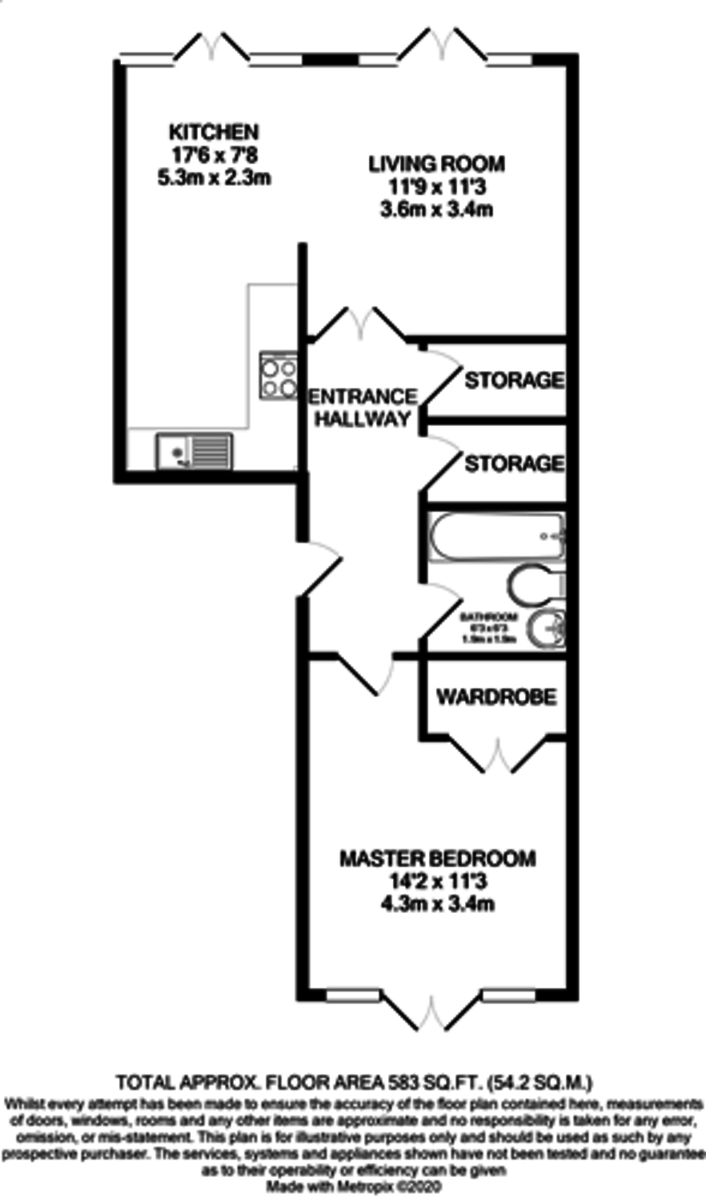 Royal Arch Apartments, Wharfside Street, Birmingham floorplan 1 of 1