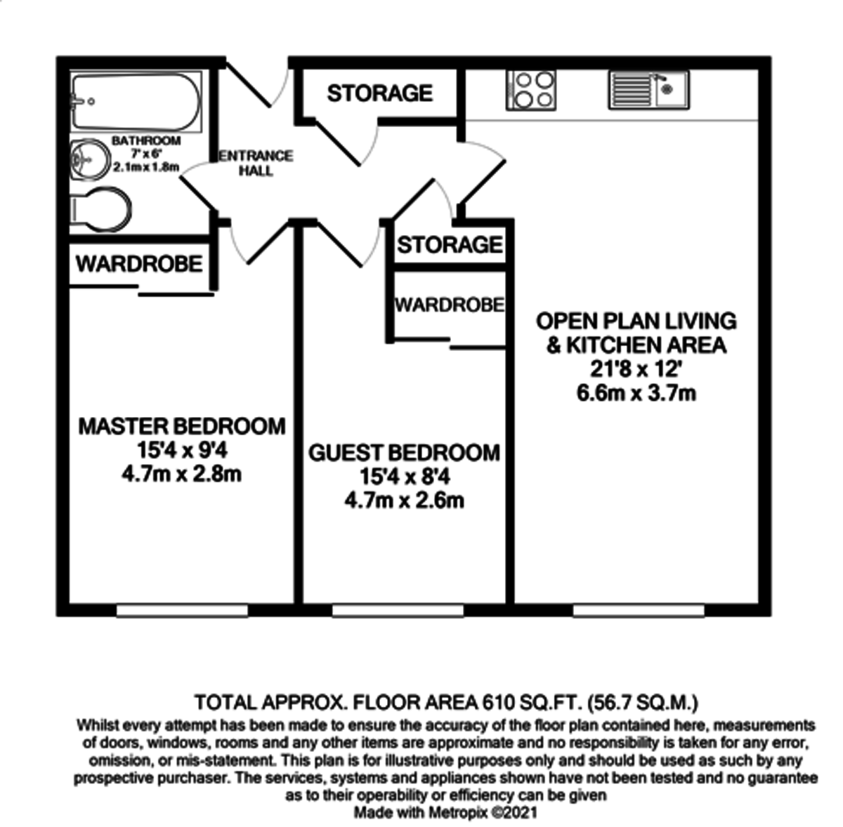 Dayus House, 2 Tenby Street South, Jewellery Quarter floorplan 1 of 1