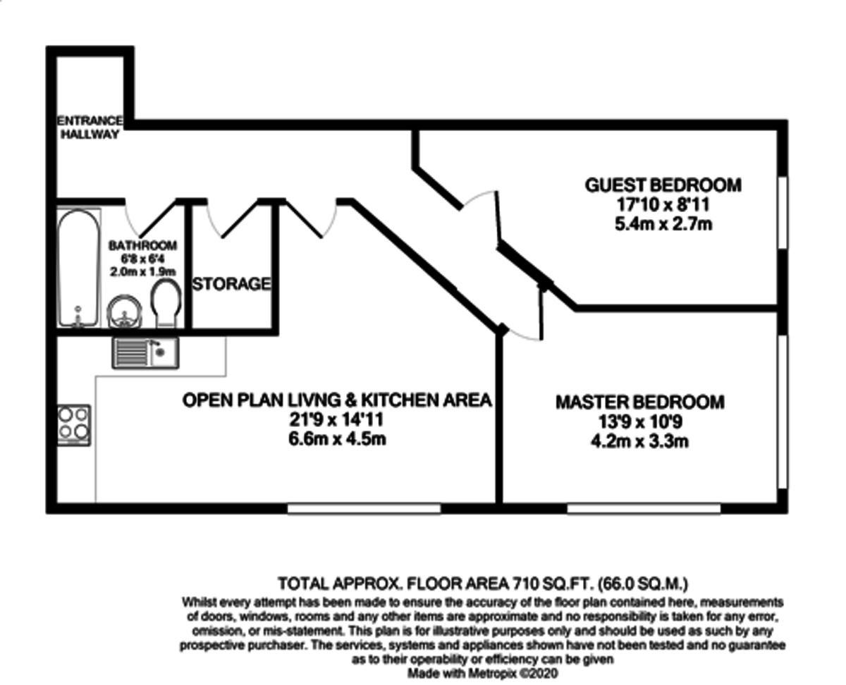 The Kettleworks, 126 Pope Street, Jewellery Quarter floorplan 1 of 1