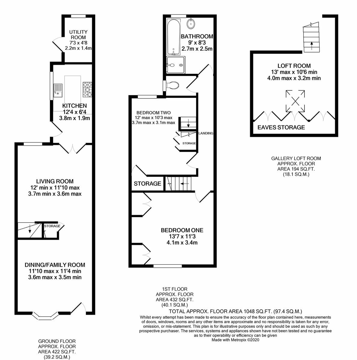South Street, Harborne floorplan 1 of 1