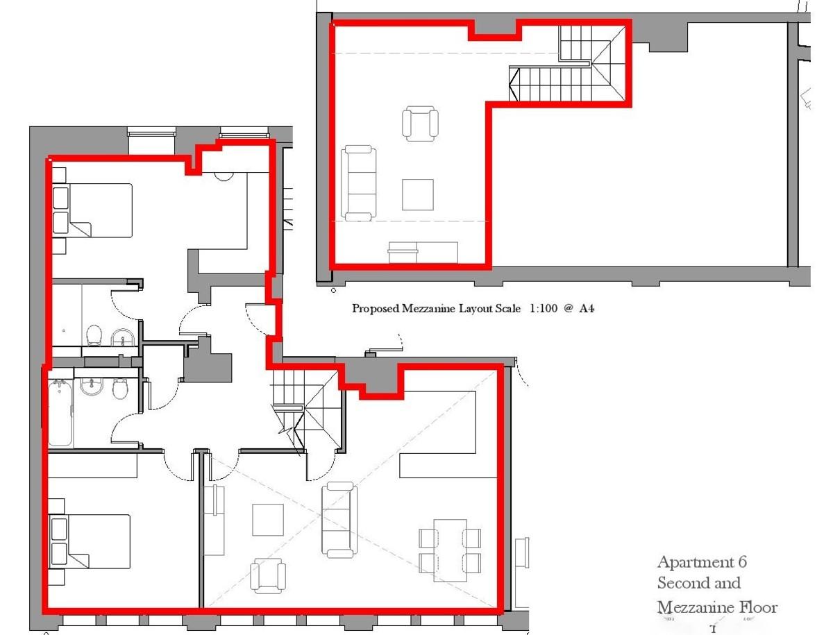 Sydenham Place, 26B Tenby Street , Jewellery Quarter floorplan 1 of 1