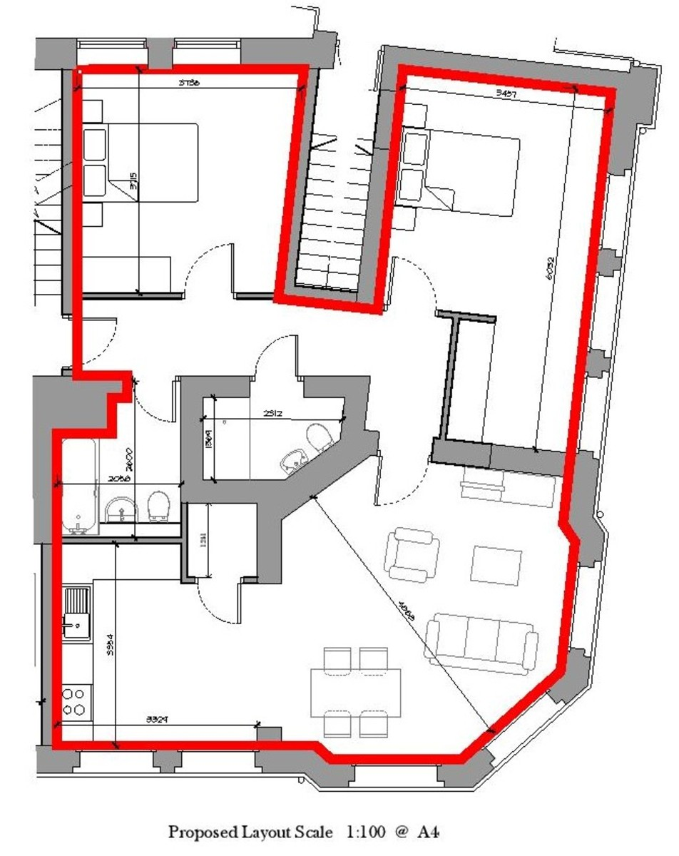 Sydenham Place, 26B Tenby Street, Jewellery Quarter floorplan 1 of 1