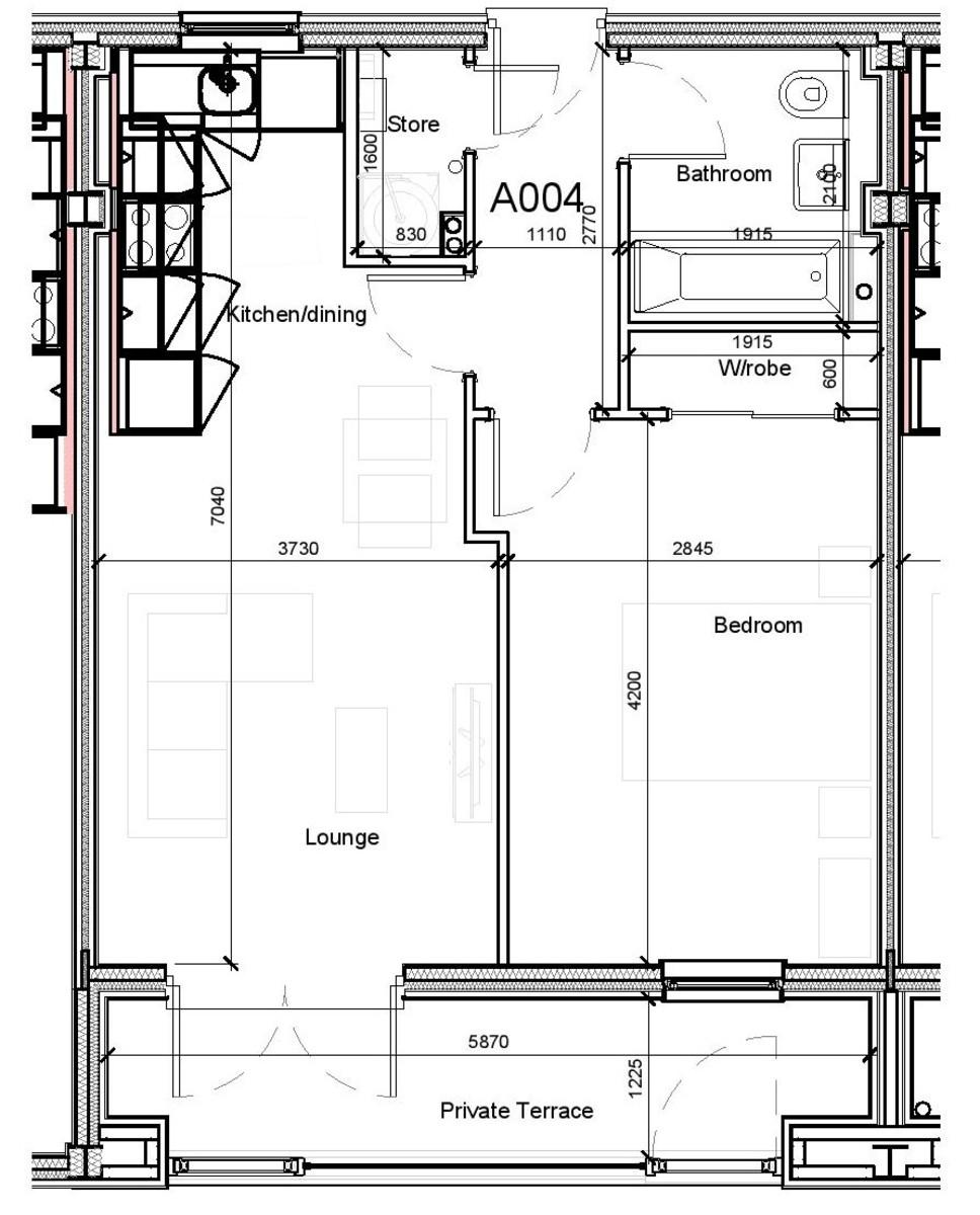 Madison House, 94 Wrentham Street, Birmingham City Centre floorplan 1 of 1