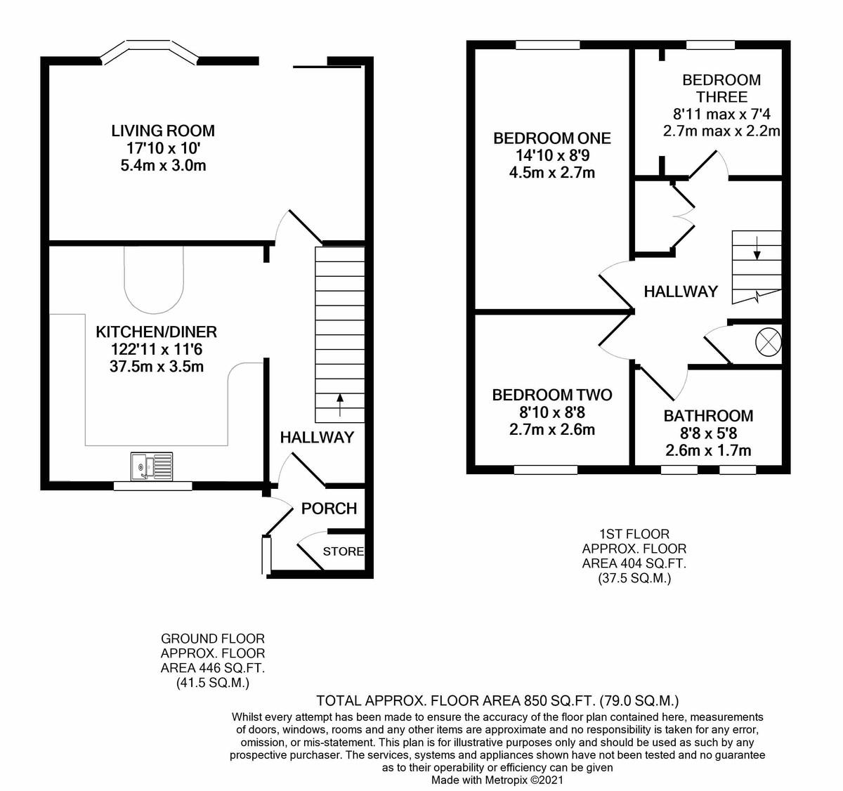 Cadnam Close, Harborne floorplan 1 of 1