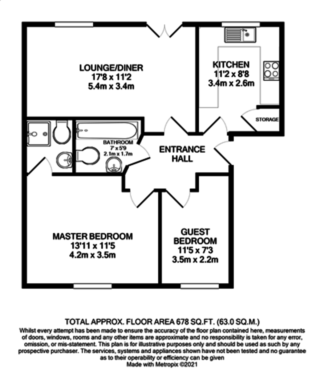 Point 4, 72 Branston Street, Jewellery Quarter floorplan 1 of 1