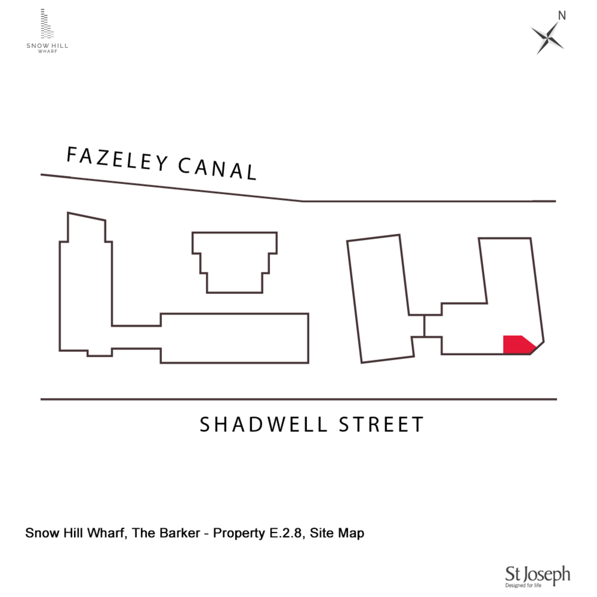 The Barker, Snow Hill Wharf, Birmingham City Centre floorplan 2 of 2