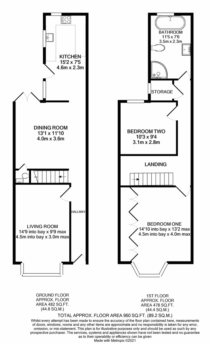 King Edward Road, Moseley floorplan 1 of 1