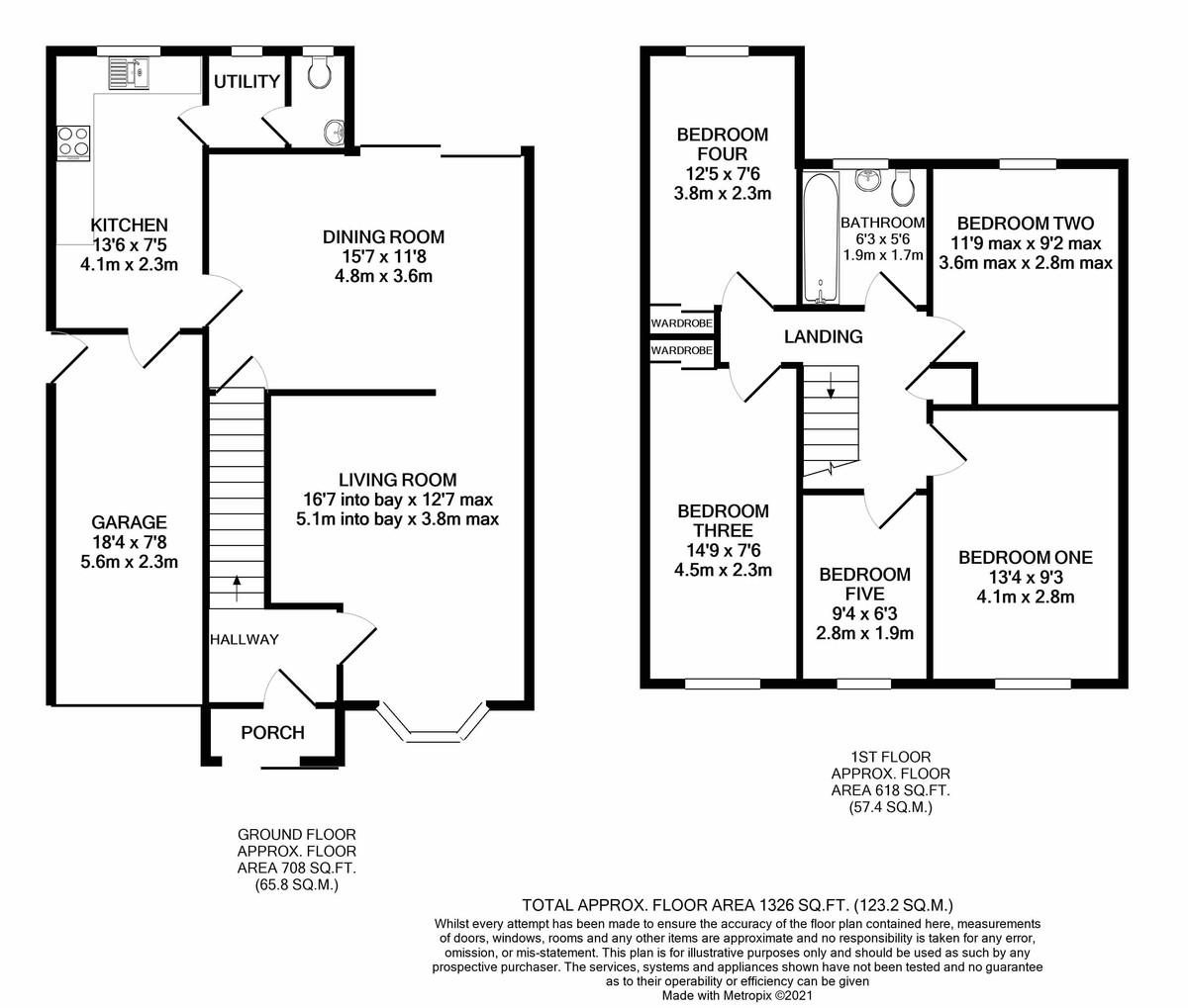 Shandon Close, Birmingham floorplan 1 of 1