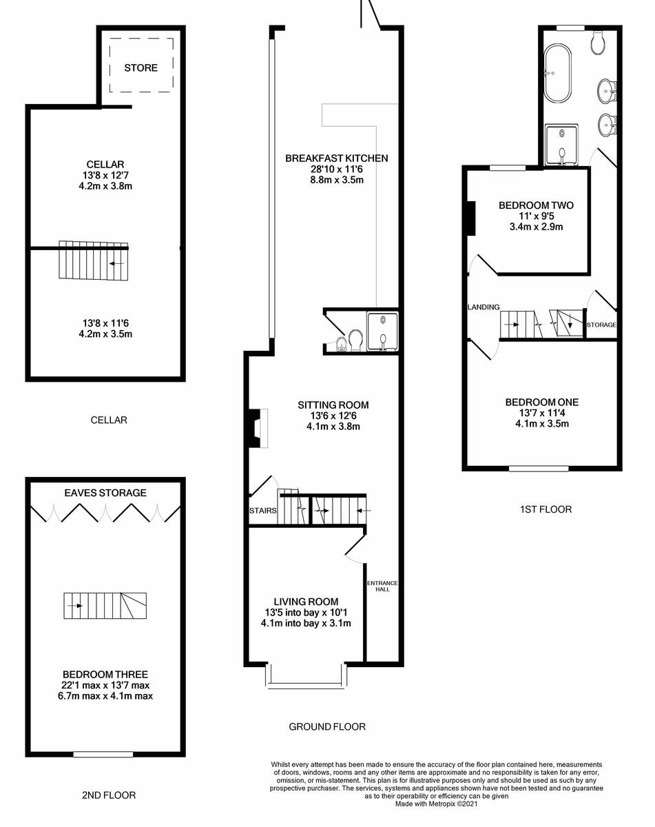 Regent Road, Harborne floorplan 1 of 1