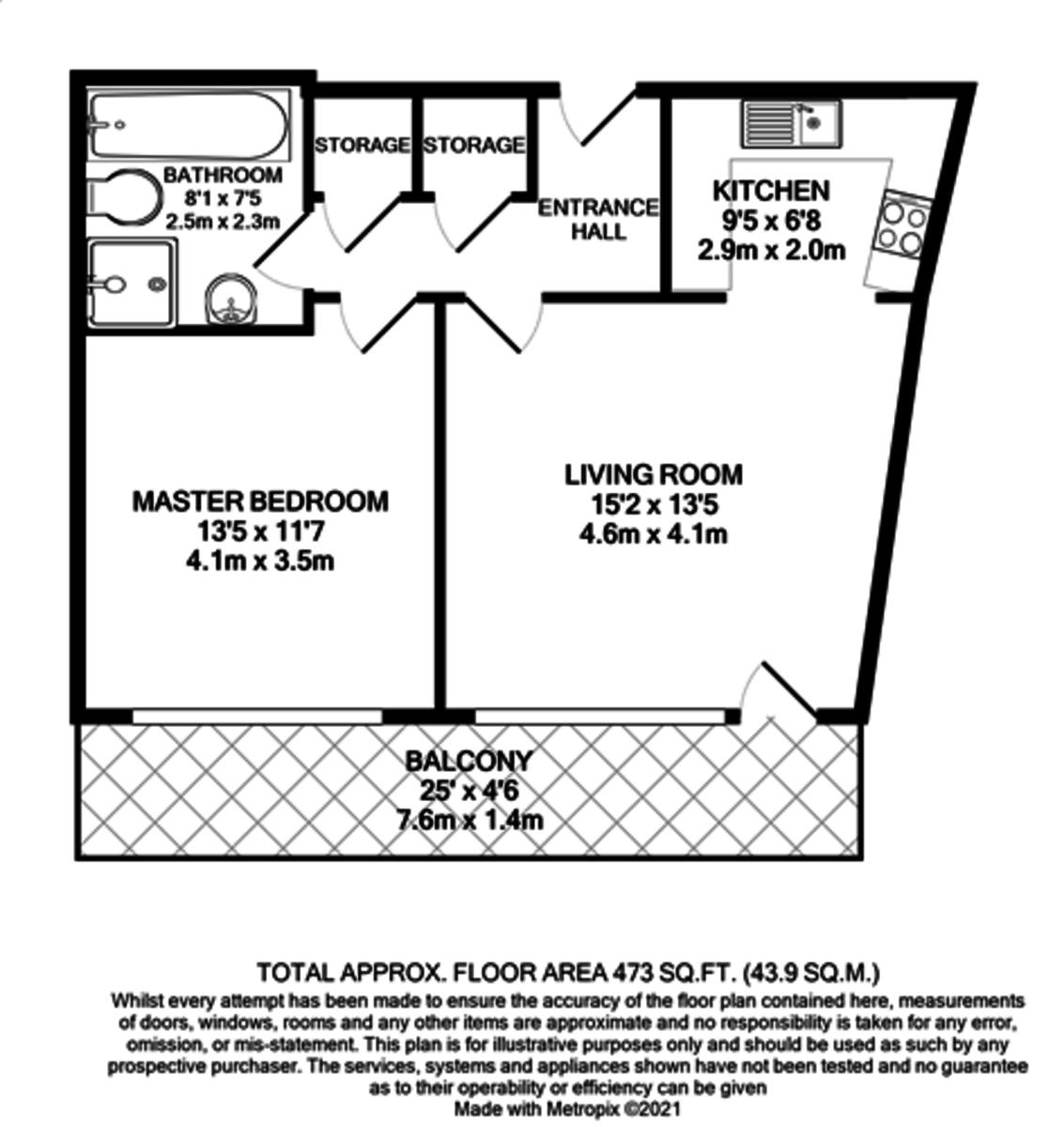 Longleat Avenue, Park Central, Birmingham City Centre floorplan 1 of 1