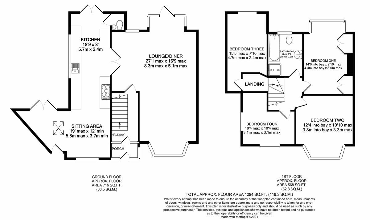 Lelant Grove, Harborne floorplan 1 of 1