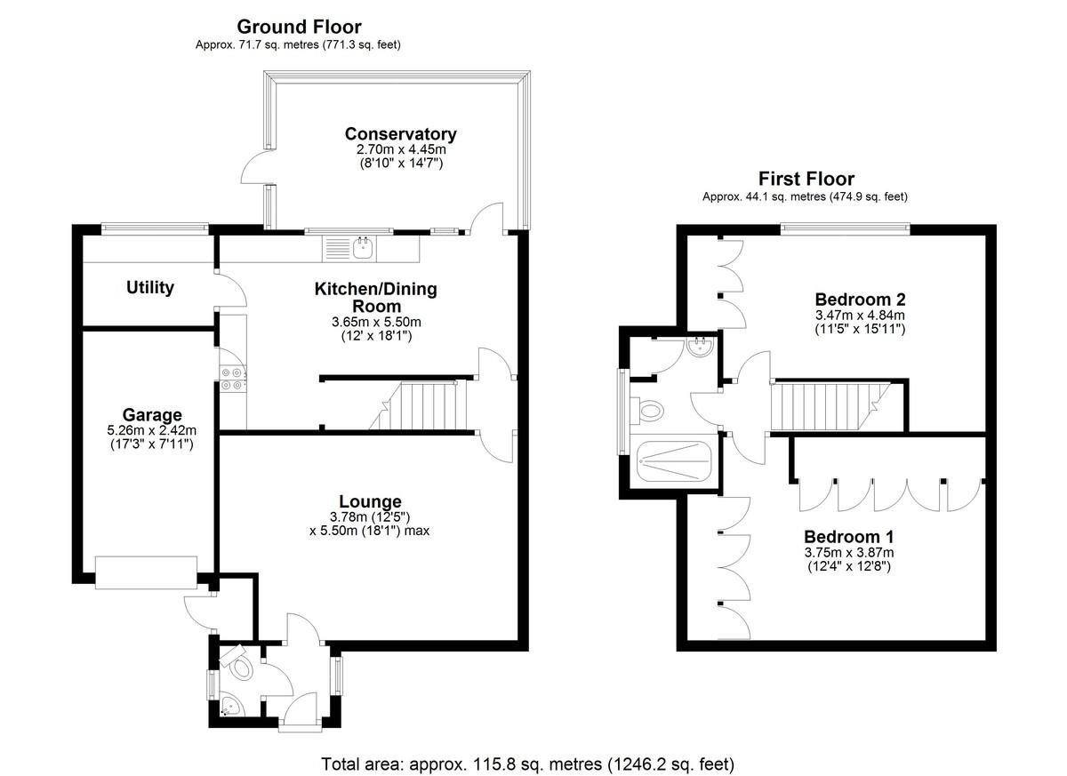 Chancellors Close, Edgbaston, Birmingham floorplan 1 of 1