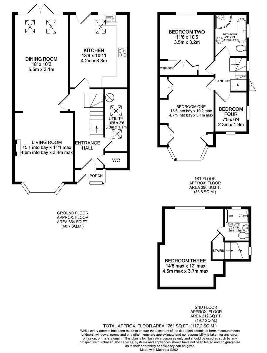 Lordswood Road, Harborne floorplan 1 of 1