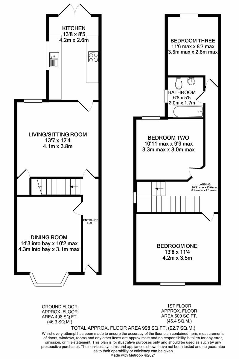 Grosvenor Road, Harborne floorplan 1 of 1