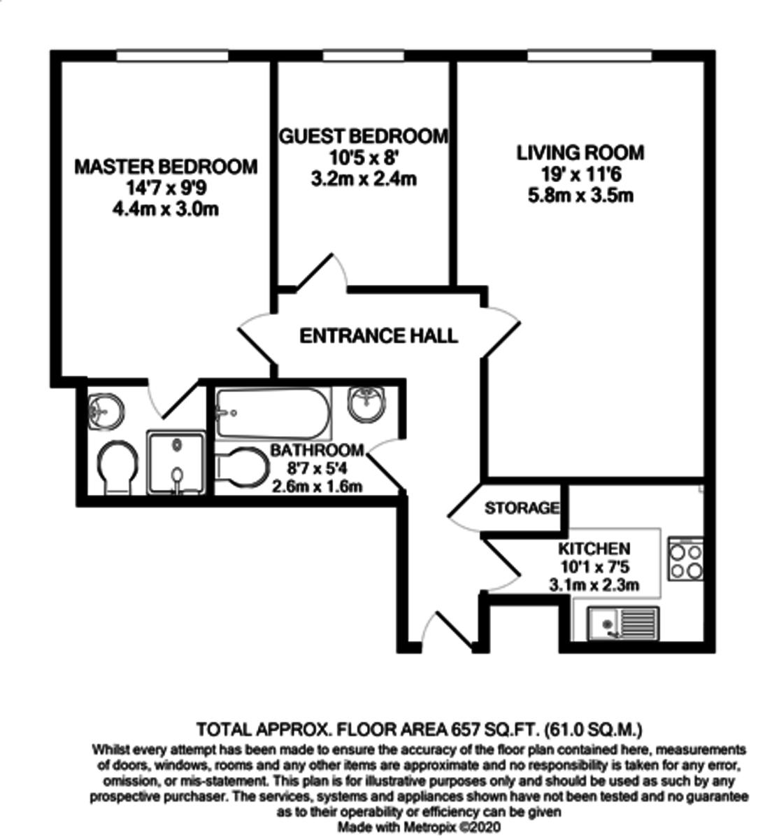 18 42 George Street floorplan 1 of 1