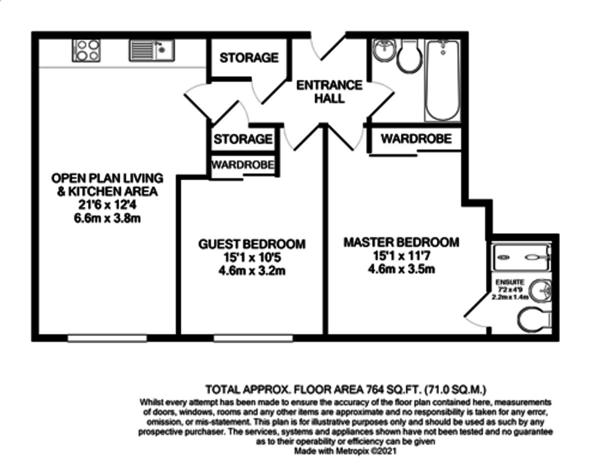 Moreton House, 10 Moreton Street, Jewellery Quarter floorplan 1 of 1