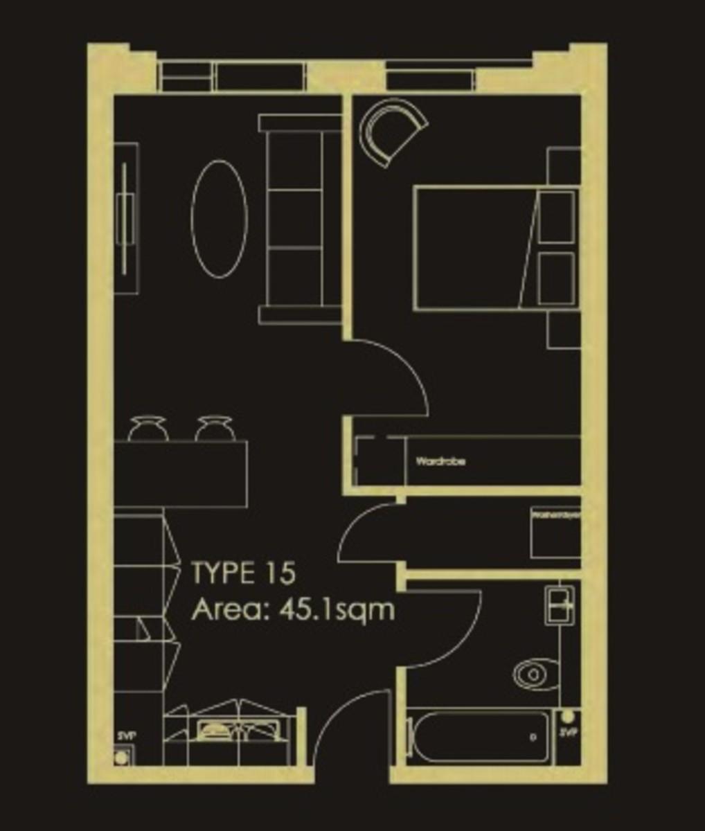 Axium, Windmill Street, Birmingham floorplan 1 of 1