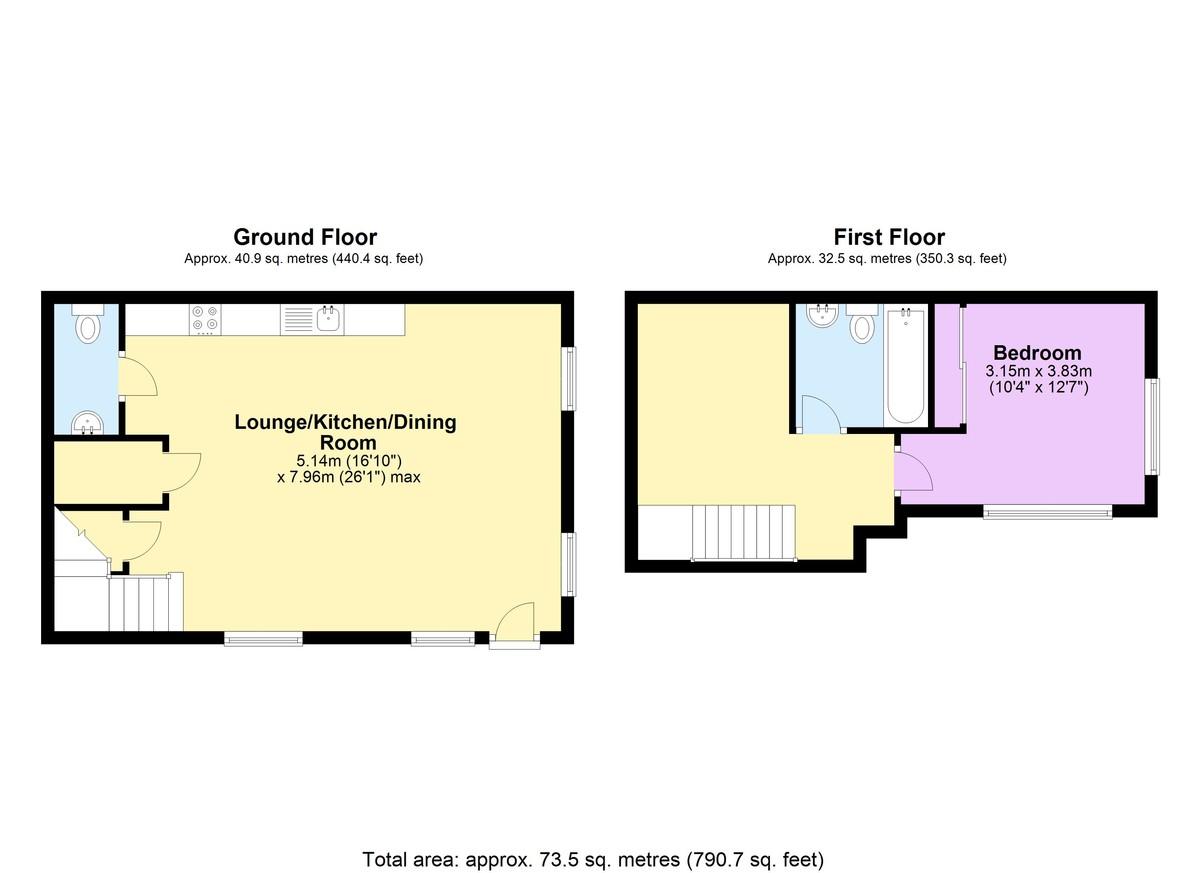 Scholars Gate, 80 Severn Street, Birmingham City Centre floorplan 1 of 1