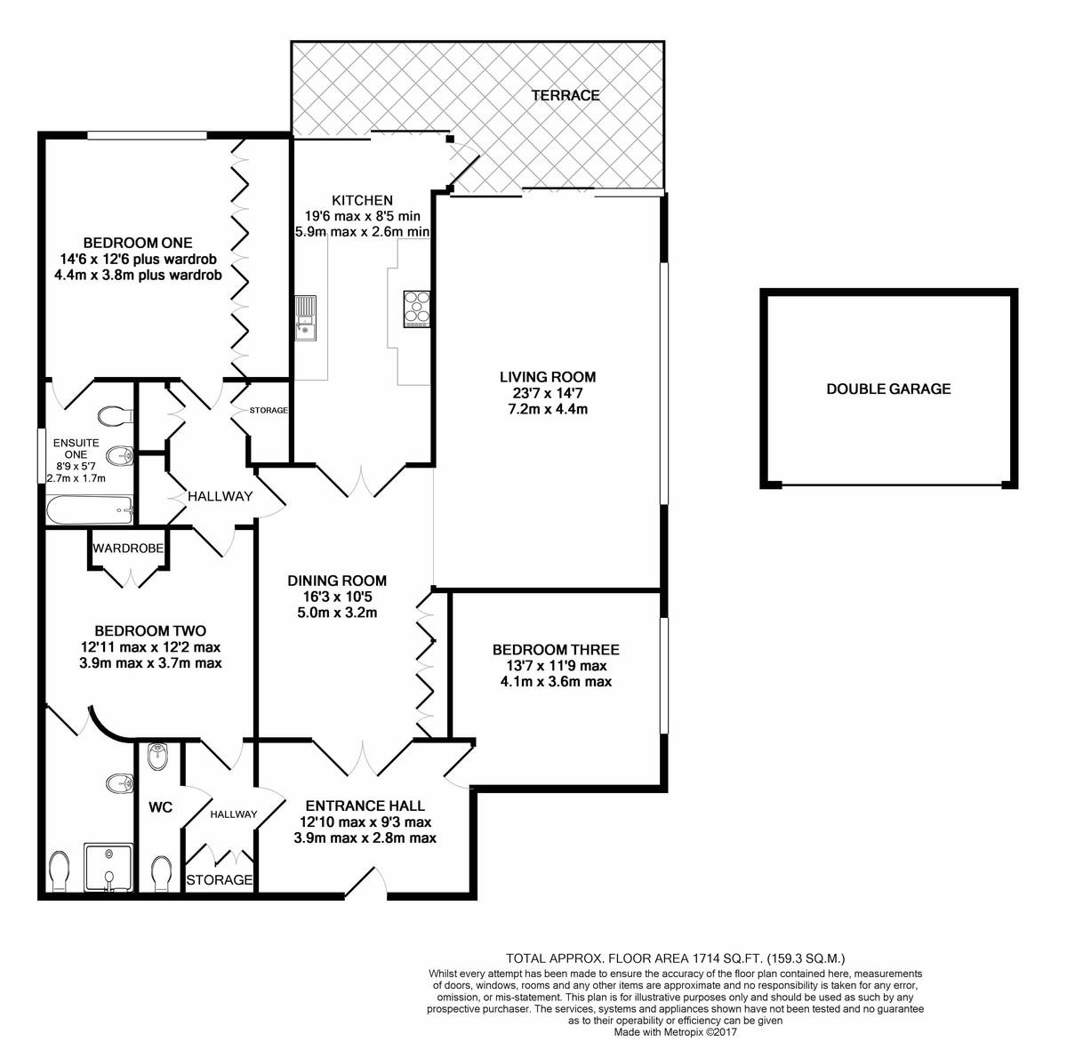 Petersham Place, Richmond Hill Road, Edgbaston, West Midlands floorplan 1 of 1