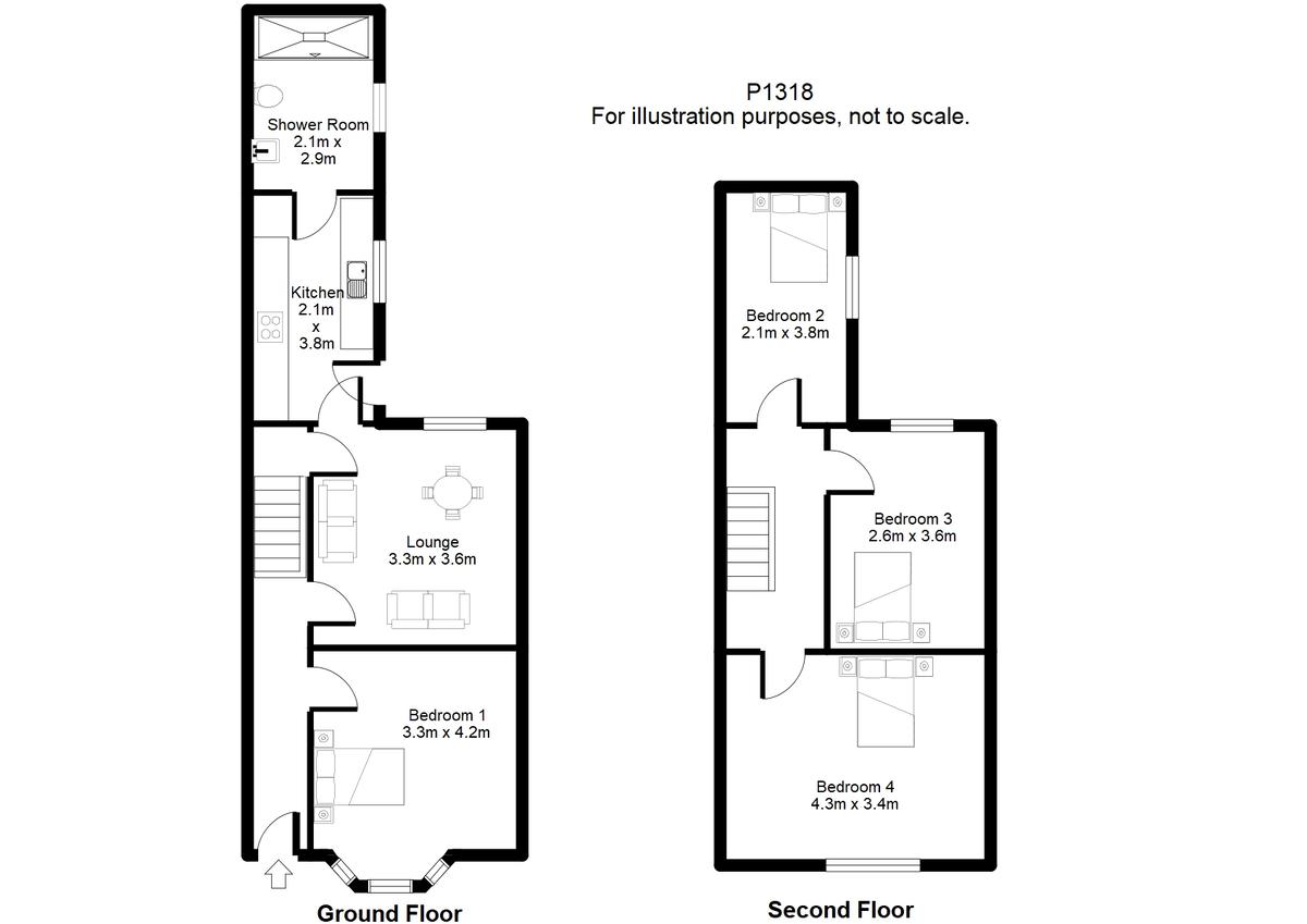 Student housing on Stanley Street, Haxby Road - floorplan 01