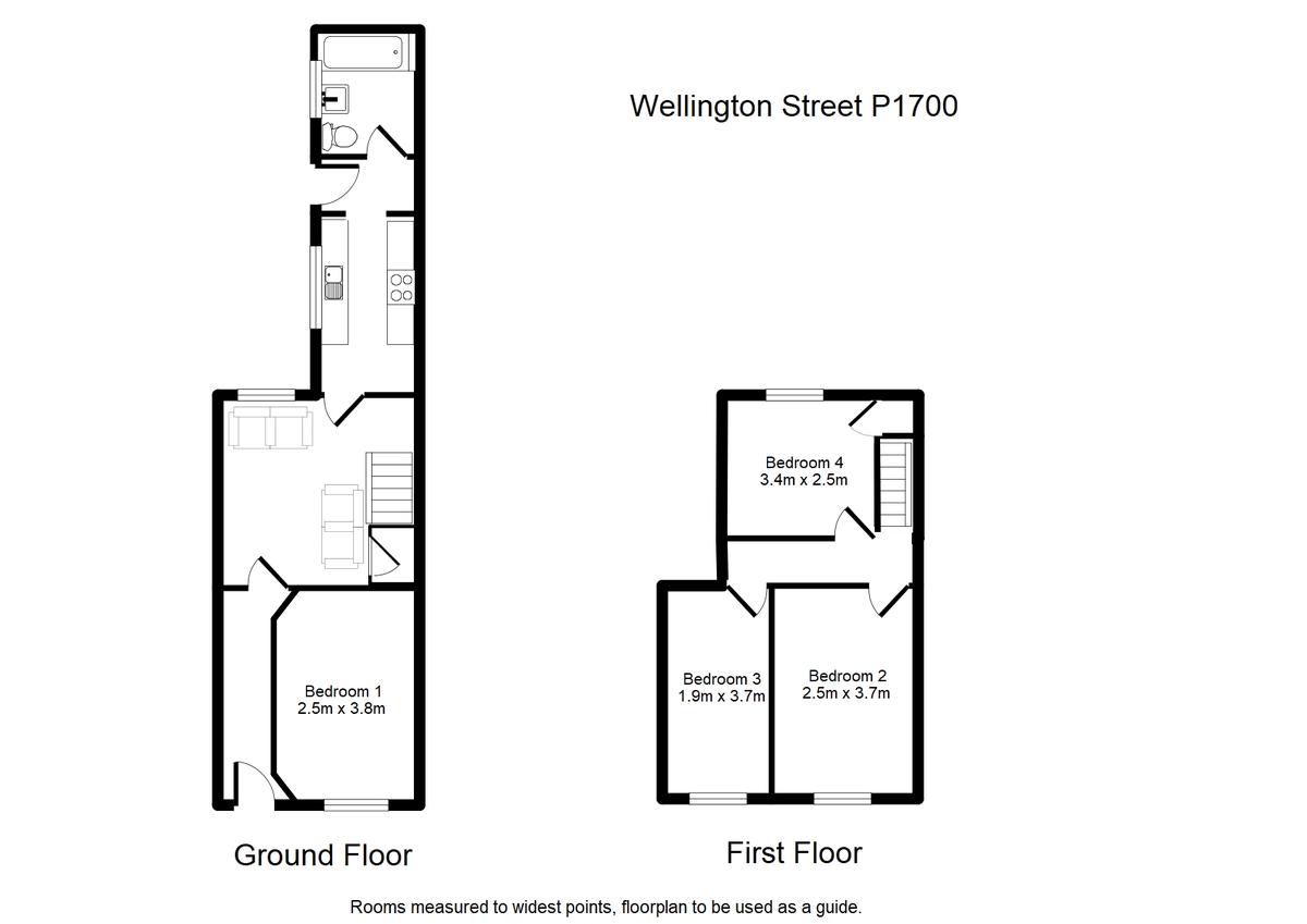 Student housing on Wellington Street, Heslington Road - floorplan 01