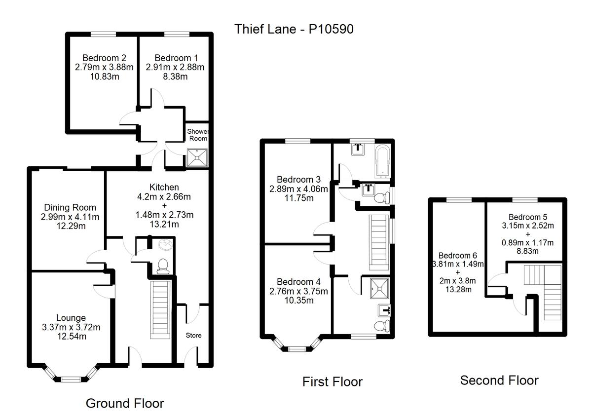 Student housing on Thief Lane, Hull Road - floorplan 01