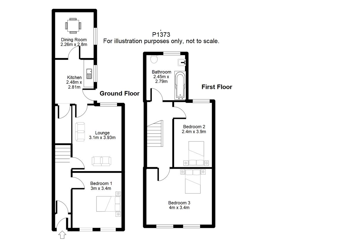 Student housing on Brunswick Street, South Bank - floorplan 01