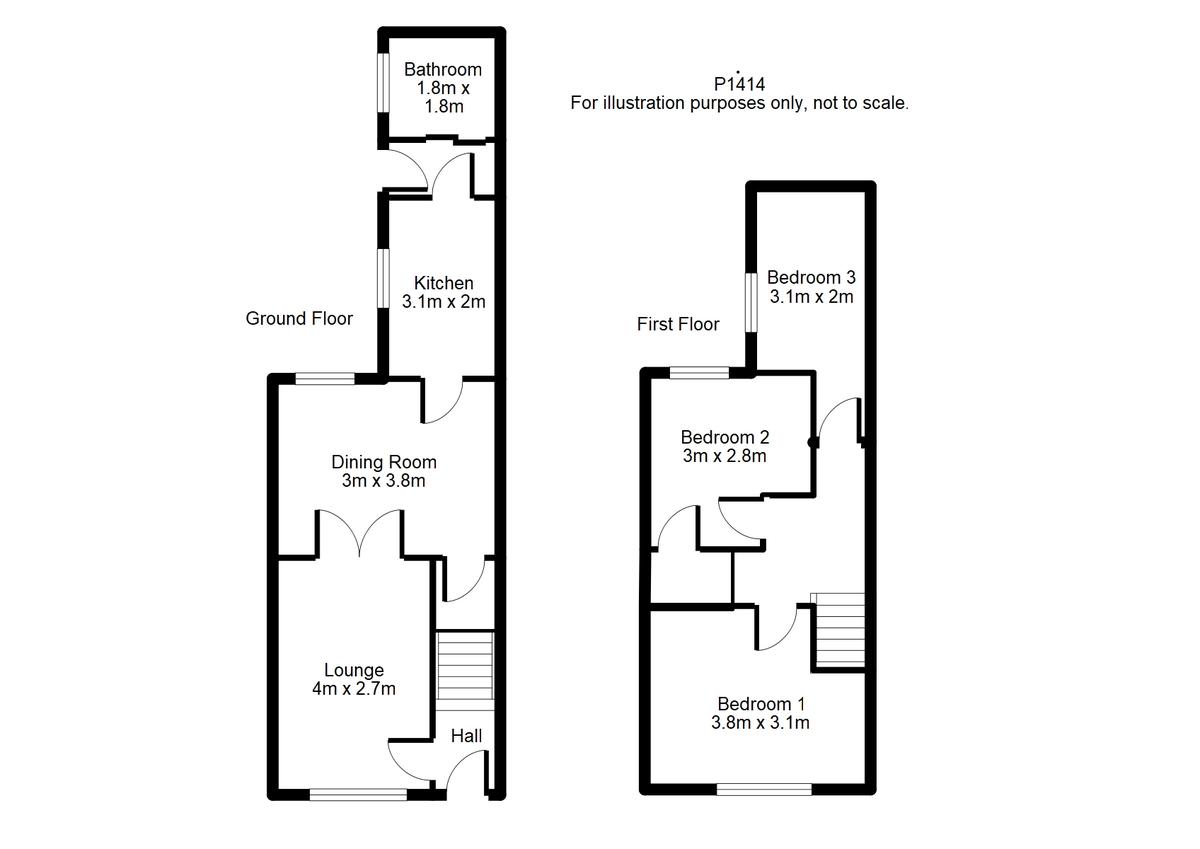 Student housing on Rose Street, Haxby Road - floorplan 01