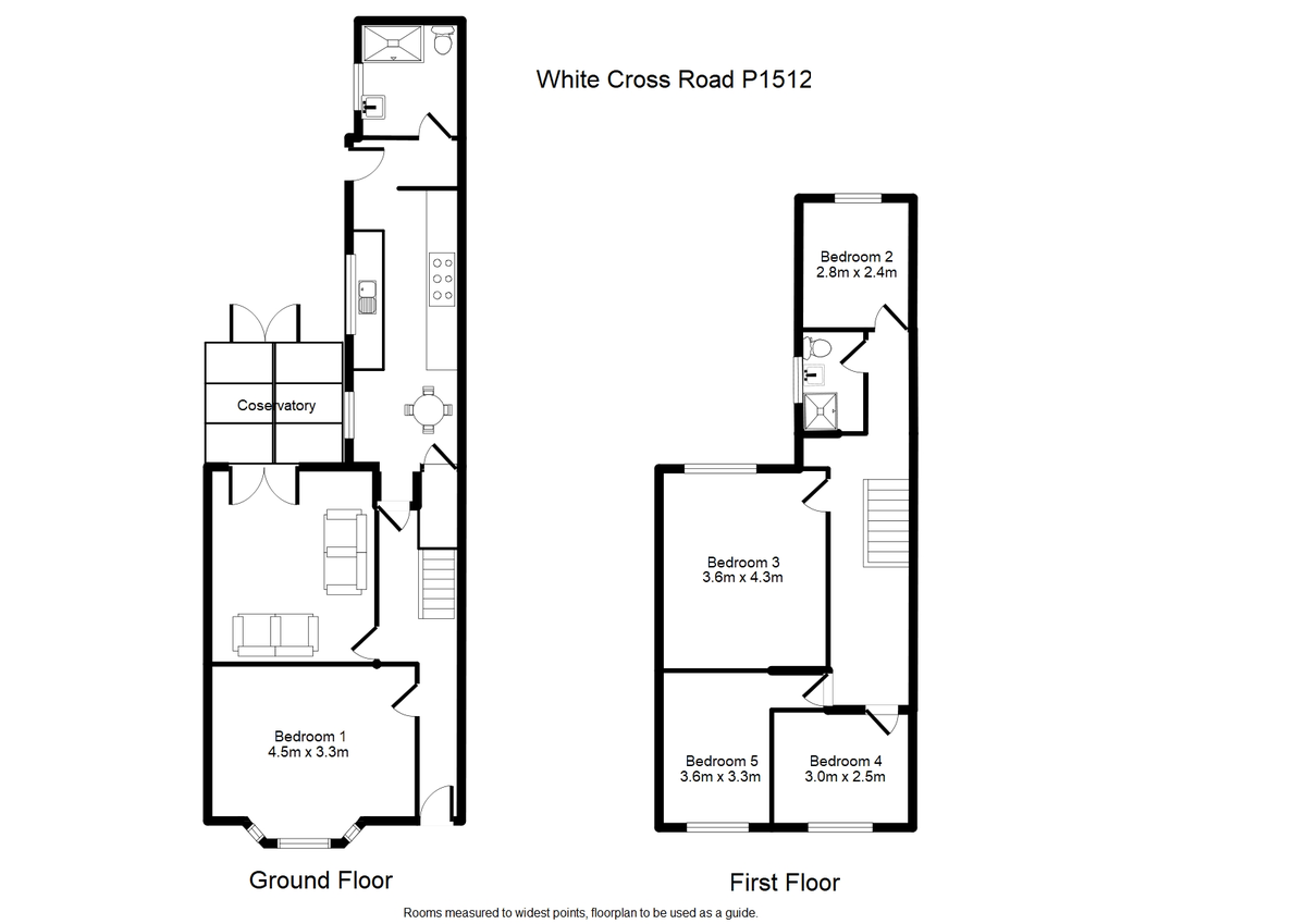 Student housing on White Cross Road, Haxby Road - floorplan 01