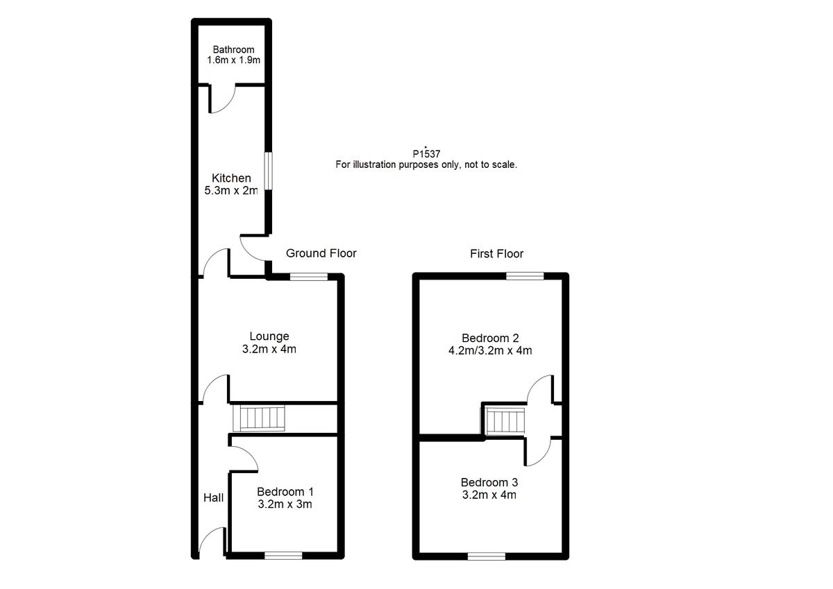 Student housing on Newborough Street, Burton Stone Lane - floorplan 01