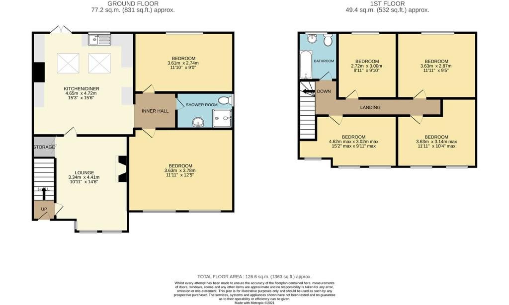 Student accommodation on Ingleborough Avenue, Tang Hall - image 09