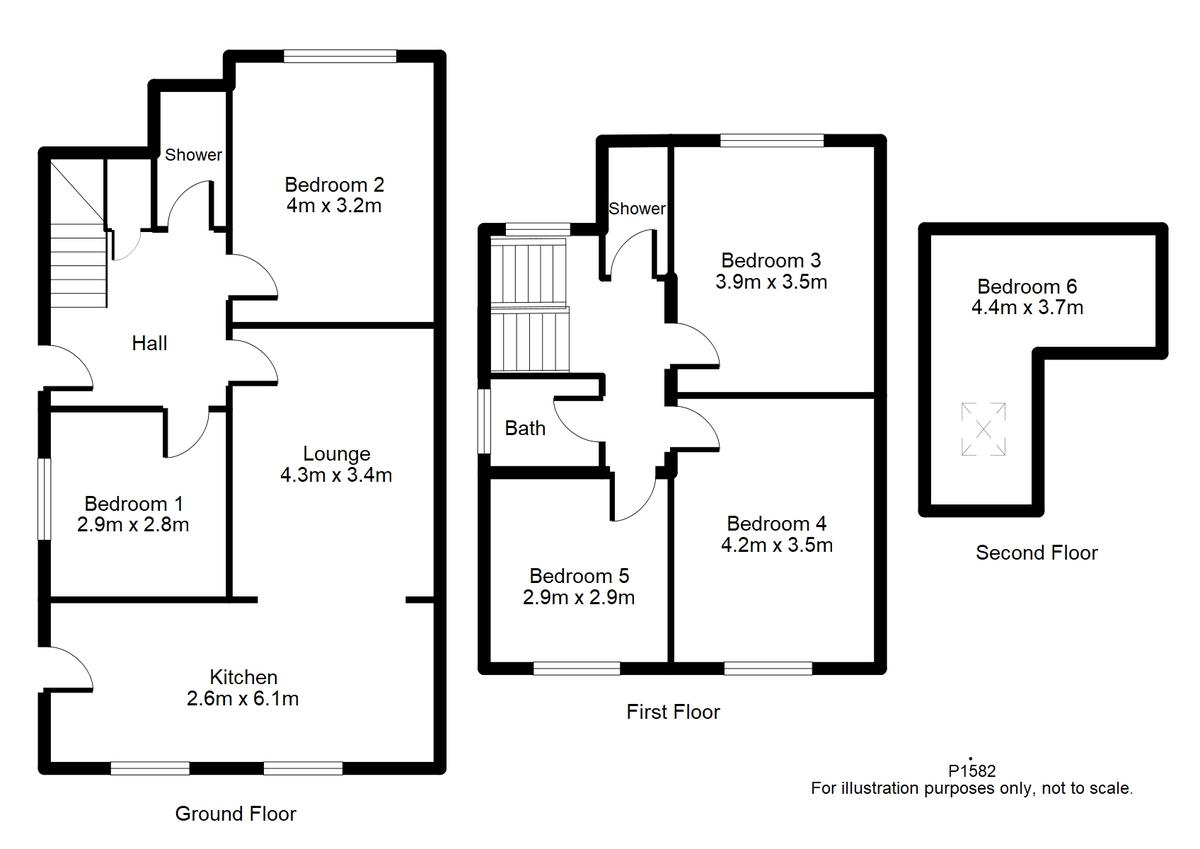 Student housing on Tang Hall Lane, Tang Hall - floorplan 01