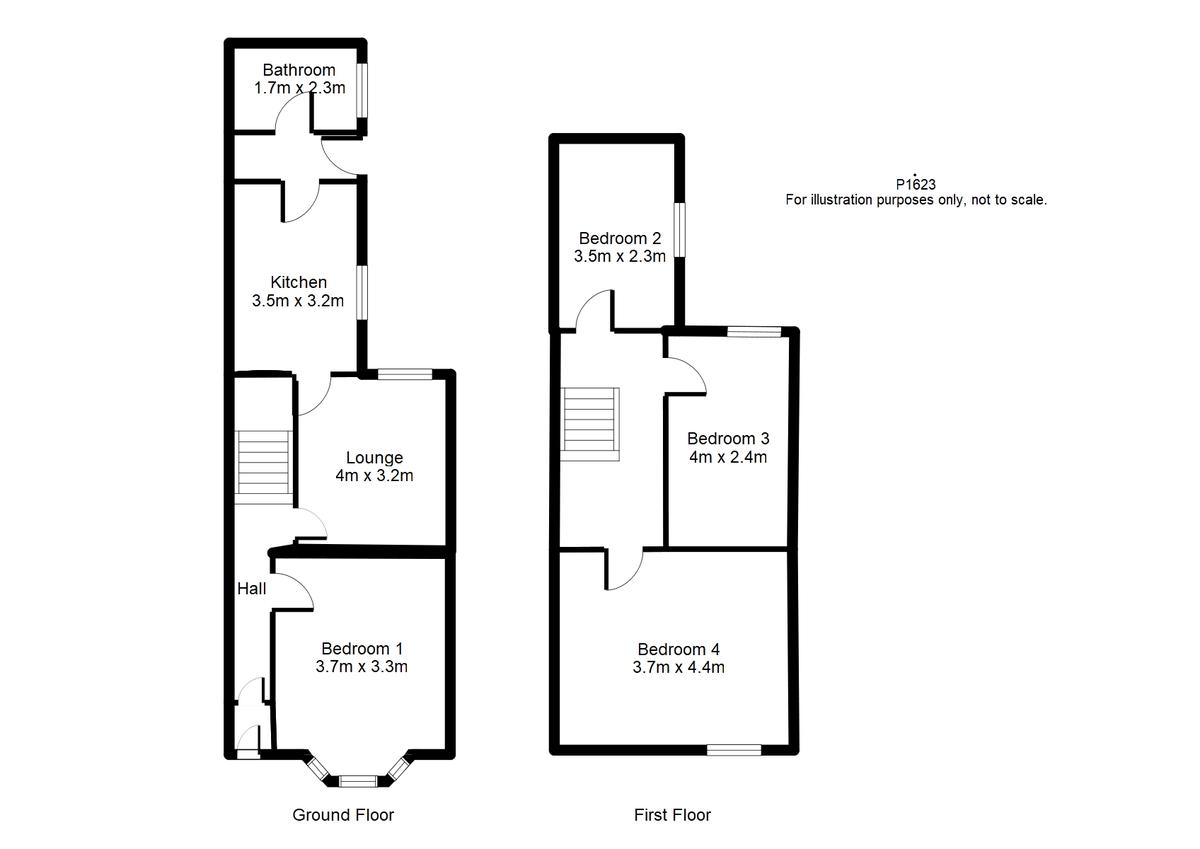 Student housing on Park Grove, The Groves - floorplan 01