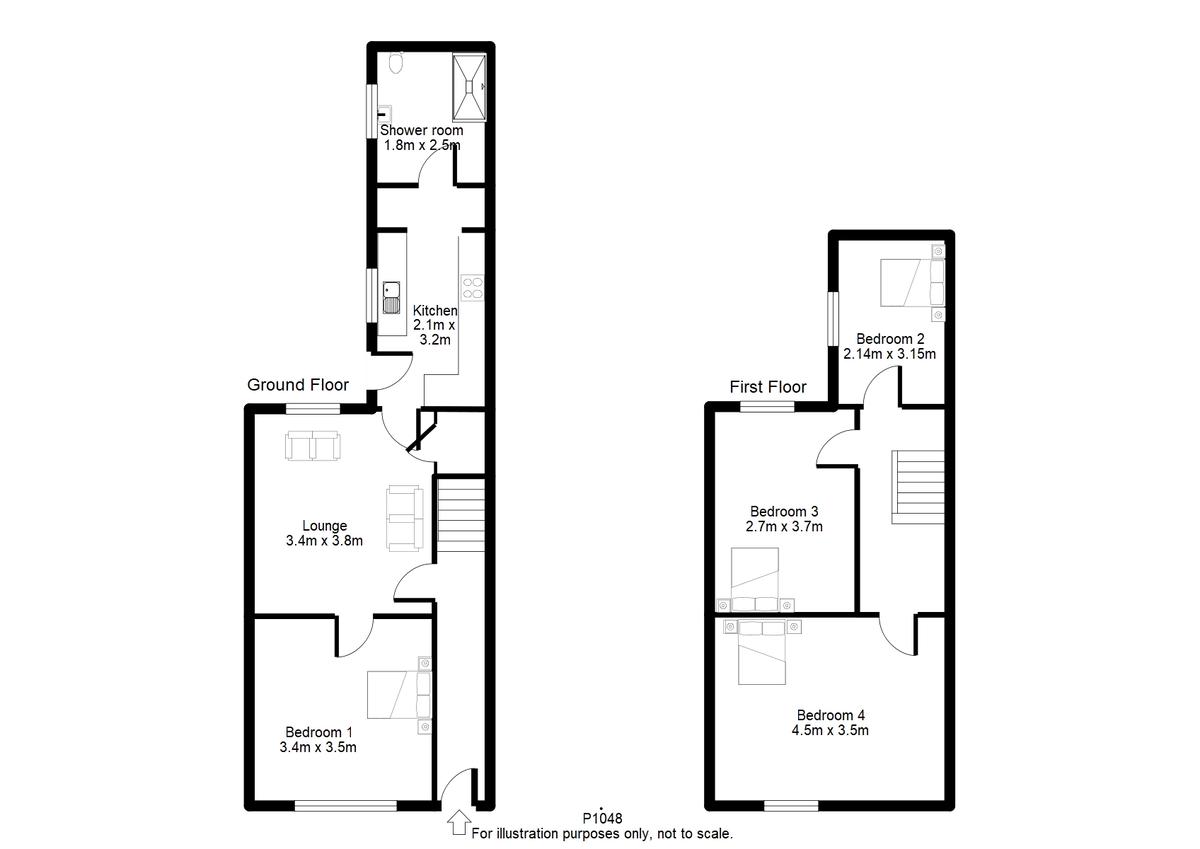Student housing on Adelaide Street, South Bank - floorplan 01
