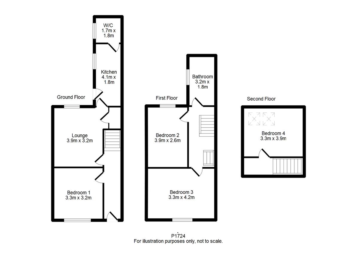 Student housing on Nunmill Street, South Bank - floorplan 01