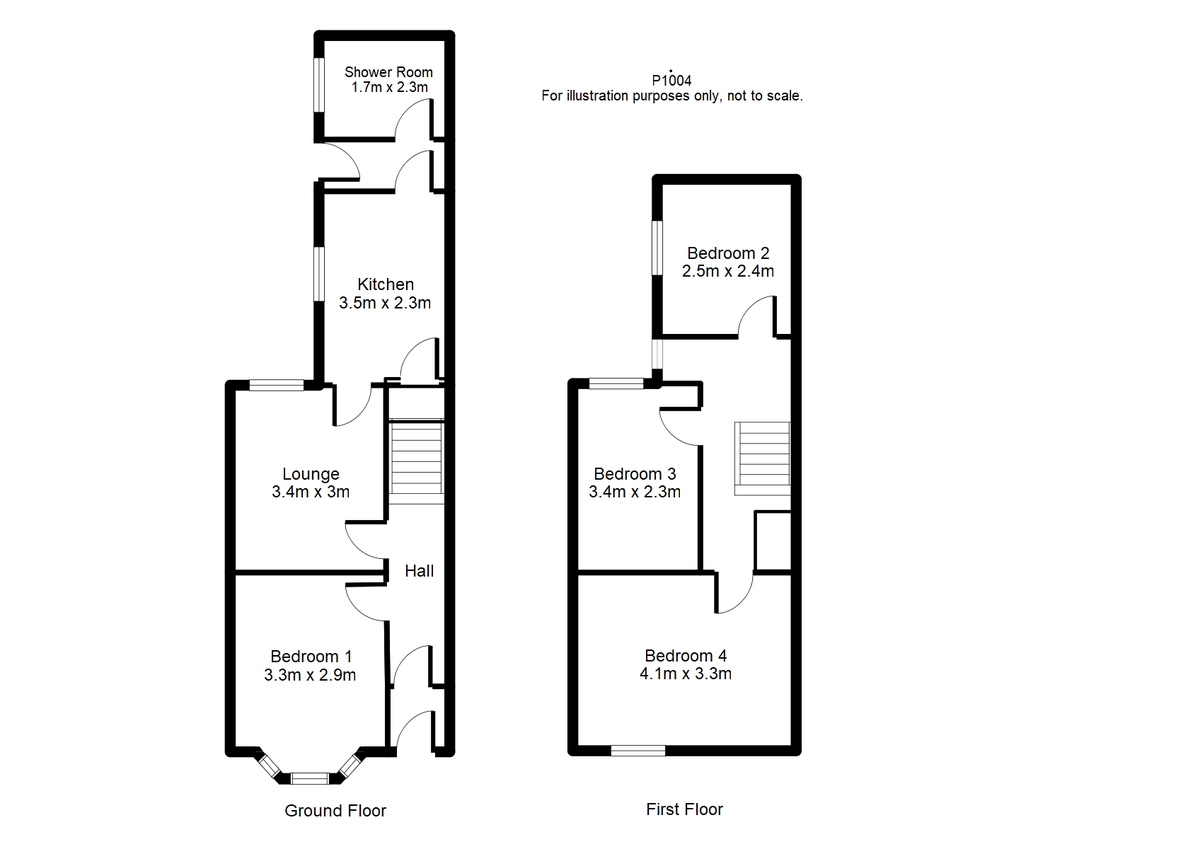 Student housing on Brownlow Street, The Groves - floorplan 01