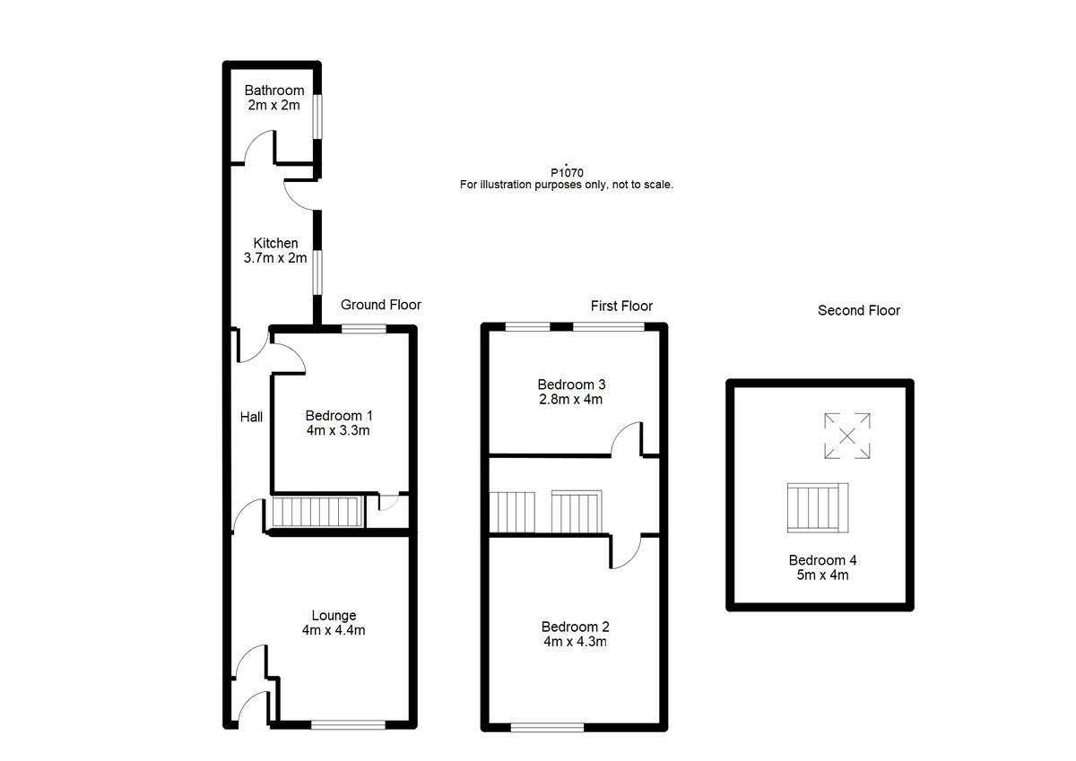 Student housing on Nunnery Lane, South Bank - floorplan 01