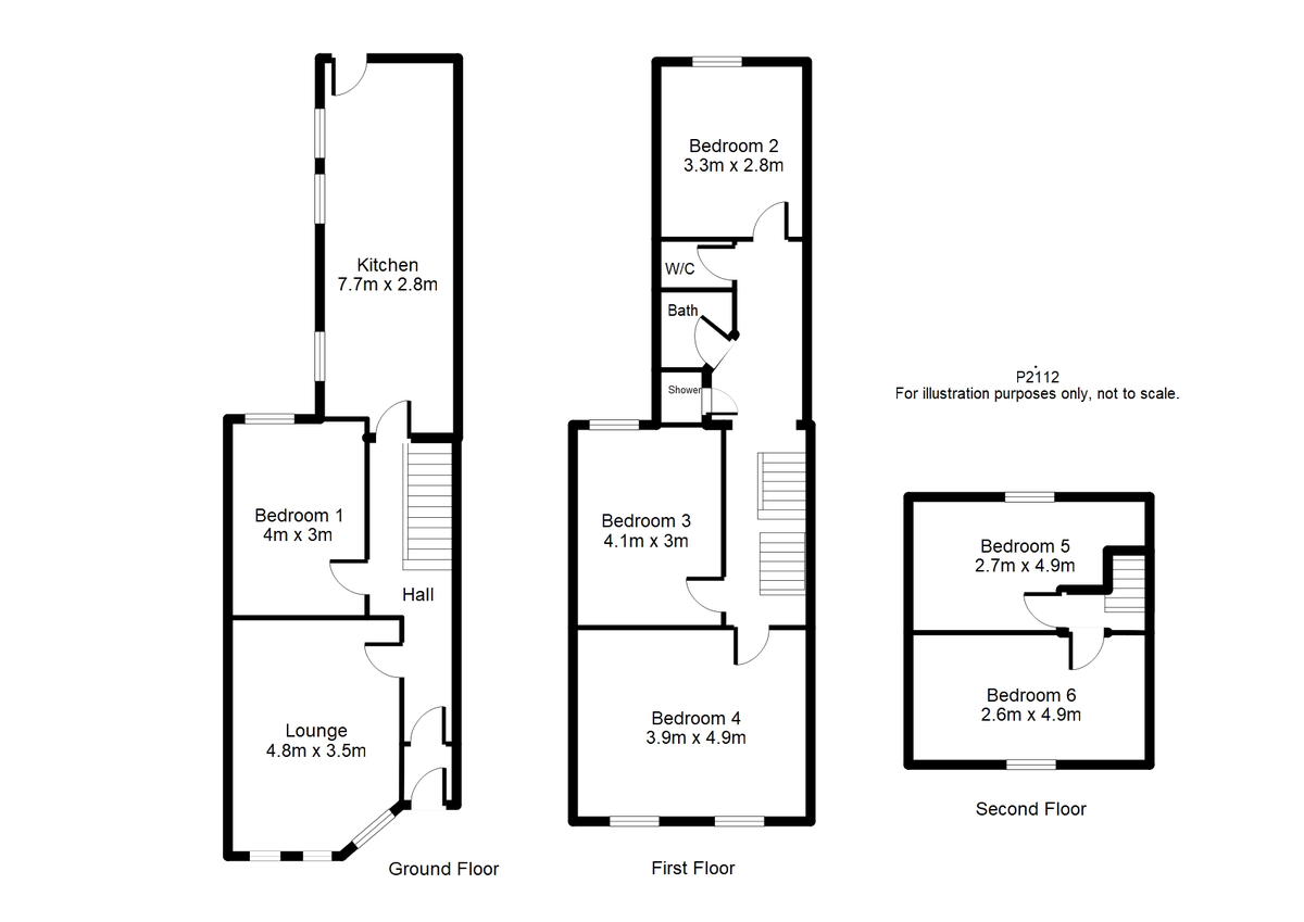 Student housing on Haxby Road - floorplan 01